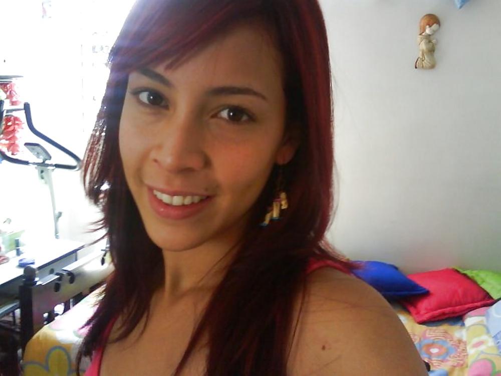 Latina naked