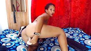 A Hard Masturbation Scene