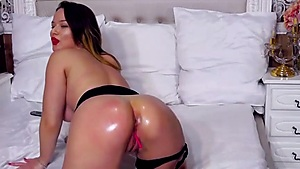 Oiled Ass Stretching
